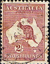Australia 1932 SG 134 Kangaroo on Map Fine Used Other Australian Stamps HERE