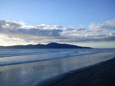 Kāpiti Island from Raumati Kāpiti Coast, Aotearoa New Zealand image © Bronwyn Angela White