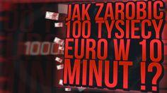 ILE ZARABIA CSGODOUBLE ?! 100 TYSIĘCY EURO W 10 MINUT
