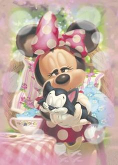 D-500-381 Tenyo Disney Japan Jigsaw Puzzles Minnie Mouse Characters