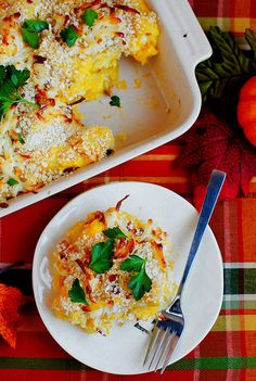 yummyinmytumbly:    Butternut Squash Mac & Cheese