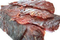 Beef Jerky | 43 Survival Food Items That Actually Taste Good | Survival Food Doesn't Have to Be Bland and Boring! | The Best List of Food for Shtf Preparedness by Survival Life at http://survivallife.com/survival-food-that-actually-tastes-good/