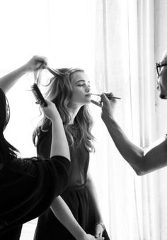 a personal stylist/make-up artist