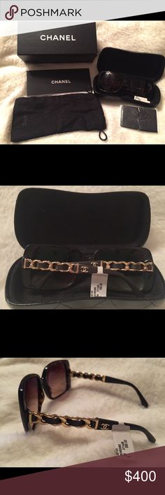 NWT!! Authentic Chanel Sunglasses NWT!! Authentic Chanel Sunglasses CHANEL Accessories Sunglasses