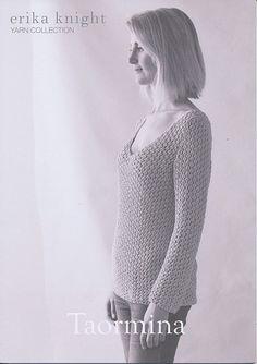 Taormina in Erika Knight Studio Linen | Erika Knight Knitting Patterns | Knitting Patterns | Deramores
