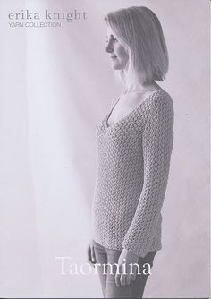Taormina in Erika Knight Studio Linen | Erika Knight Knitting Patterns | Knitting Patterns | Deramores