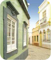 Zona histórica de Olhão