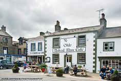Ye Olde Naked Man Cafe, Settle, Yorkshire Dales, North Yorkshire, England Think I have to find this place!
