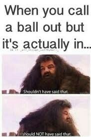 volleyball and Harry Potter! -hahahahahaha this made me laugh really loudly for a looooong time.volleyball and Harry Potter! -hahahahahaha this made me laugh really loudly for a looooong time. Volleyball Jokes, Softball Memes, Sports Memes, Volleyball Players, Volleyball Drills, Softball Problems, Volleyball Gifts, Coaching Volleyball, Volleyball Training