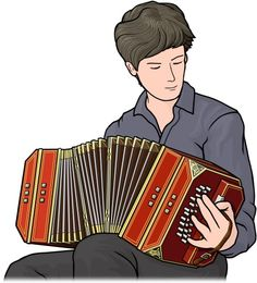 bandoneon player