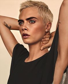 Cara Delevingne, Tomboy, Supermodels, Famous People, Celebrities, Hair Styles, Movies, Fictional Characters, Instagram