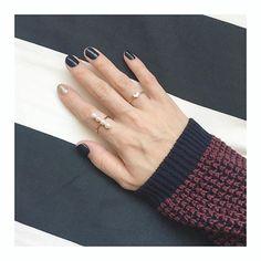. . 小さなハート♡ . . 🔝オンラインショップは  トップページからお願いいたします . #plusjewel #jewelry #accessory #accessories #minimal #simple #ring #fashion #follow #ootd #tokyo #japan #madeinjapan #handmade #3dcad #jewelrycad #フォロー #ファッション #プラスジュエル #ジュエリー #アクセサリー #ミニマル #シンプル #リング #ネイル #セルフネイル #ショートネイル