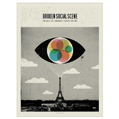 Band Job :: Music Art & Awesome Design :: Broken Social Scene _ La Maroquinerie _ Paris