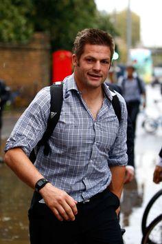 Richie Mccaw Photos: New Zealand All Blacks Arrive in London