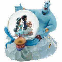 Aladdin Disney Snowglobe