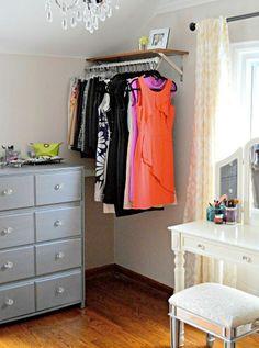 small dressing room