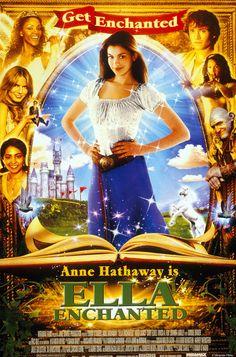 #Hechizada (2004). Dir: Tommy O'Haver; Int: Anne Hathaway, Hugh Dancy, Cary Elwes, Vivica A. Fox, Joanna Lumley, Minnie Driver y Eric Idle.