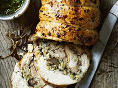 Stuffed Roast Chicken Recipe   Gordon Ramsay Recipes