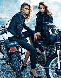 Magdalena Frackowiak & Edita Vilkeviciute by Lachlan Bailey for W Magazine September 2013 6