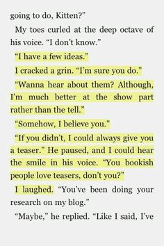 I have no idea what book this is from, but it's like ti was written for you!!
