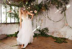 Pretty Wedding décore un shooting « Jardin Secret » pour Oui Magazine