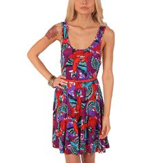 Havana Breeze Jersey Dress