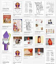 Des idées et des ressources pour mettre en place des activités sur le Thème de saint-Nicolas (chants, bricolages, lecture, coloriages...)
