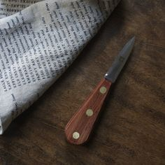 Murphy Oyster Knives // Weston Table