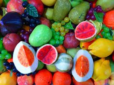 Red Yellow and Green Fruits  Free Stock Photo