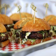 5 burger recipes with really interesting ingredients (fried watercress, as pictured)