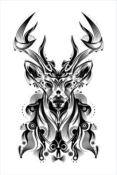 How to Create a Stylish Deer with Brushes and Graphic Styles in Adobe Illustrator - Tuts+ Design & Illustration Tutorial