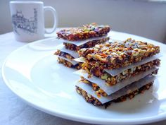 Apricot and Plum Breakfast Biscotti with Lavender and Cardamom, Golubka