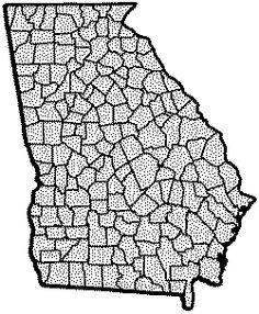 Georgia genealogy databases at Rootsweb.com