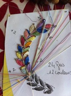 MONIQUE R. festival de couleurs pour cet exercice d'apprentissage de point d'esprit à 6 , 8 et 10 fuseaux. Voilà... ce mystère, dont nous parlions depuis un moment, est non seulement élucidé mais démystifié, le P.E. 4 fuseaux fait peur alors Grand Dieu avec 10 ! mais bravo les filles , vous vous en êtes super bien sorties ! Bobbin Lace Patterns, Tatting Patterns, Needle Tatting, Needle Lace, Bobbin Lacemaking, Lace Saree, Bravo, Lace Jewelry, Diy Headband