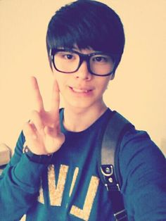 Cute Sungjae w/ glasses