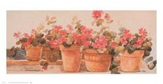 Geraniums (1984) by Dawna Barton
