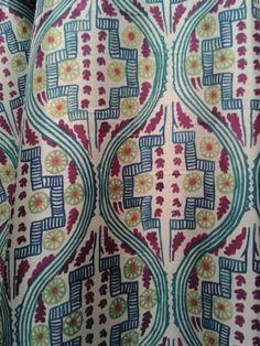 Leon Bakst fabric design