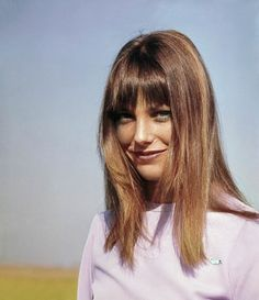 """""""Jane Birkin—while not the most original—is my eternal hair muse. If a stylist asks for a reference, I'm quick to Google up a Birkin board. If only I could muster up the courage to channel her highlights as well!"""" – Mia Adorante""""Drastic haircuts are tricky with curls, but Annie Clark (a.k.a Saint Vincent) isn't afraid to take risks. I'm not so sure I'd ask my hairdresser Melissa Hernandez at Devachan to help me go gray, although I am inspired by Clark's chopped look."""" – Emilia Petrarca…"""