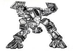 StarCraft Goliath by ~Gamewiz on deviantART