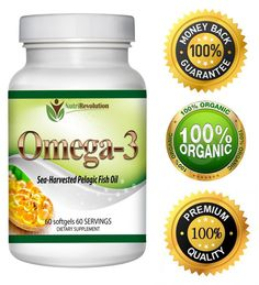 NutriRevolution Omega 3 Fish Oil 1300
