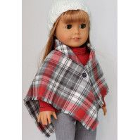 FREE Plaid Sewing Patterns & Projects - So Sew Easy - - I wanted to put together a collection of plaid sewing patterns that would highlight some really terrific opportunities to sew with plaids. American Girl Outfits, American Doll Clothes, Sewing Doll Clothes, Baby Doll Clothes, Sewing Dolls, Ag Dolls, Girl Dolls, Doll Sewing Patterns, Doll Clothes Patterns
