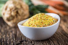 Házi vegeta tartósítószer nélkül: ezt használd a bolti helyett - Recept | Femina Dragon Ball Z, Beans, Canning, Vegetables, Tableware, Food, Home, Dragon Dall Z, Dinnerware