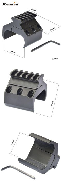 [Visit to Buy] AloneFire Tactical Hunting Swivel Converter 20mm Weaver Picatinny Adapter Rail Bipod Flashlight Mount Laser Sight Base Rifle Gun #Advertisement