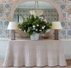 Soane wicker console