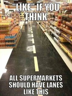 Grocery lanes. Please Costco please
