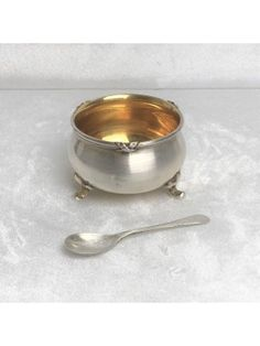 Kaviar/Salz Schale 800 Silber Österreich ca. 1940 Caviar, Salt, Silver