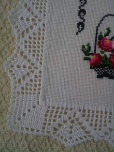 Crochet Border Patterns, Crochet Lace Edging, Baby Knitting Patterns, Filet Crochet Charts, Crochet Stitches, Crochet Gifts, Crochet Edging Patterns, Crochet Hearts, Crochet Blocks