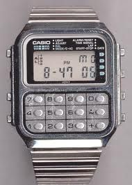 Calculator watches (I had this exact watch)