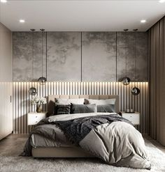 Men's Bedroom Ideas Masculine Interior Design - home - Luxury Bedroom Design, Design Room, Master Bedroom Design, Luxury Home Decor, Home Bedroom, Bedroom Decor, Bedroom Ideas, Bedroom Designs, 1920s Bedroom