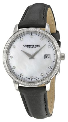 Raymond Weil Toccata Mother of Pearl Diamond Dial Ladies Watch 5388-SLS-97081 ** Click image to review more details.